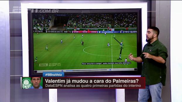 Palmeiras valente mas com problemas na defesa: com o DataESPN, Renato Rodrigues 'disseca' o time de Valentim