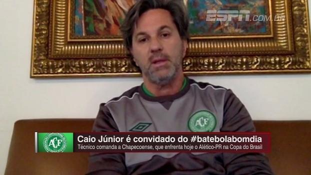 Caio Júnior elogia Atlético-PR e espera 'jogo emocionante' na Copa do Brasil