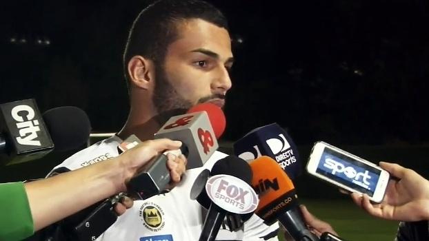 Thiago Maia prevê 'jogo muito difícil' e pressão contra o Santa Fe