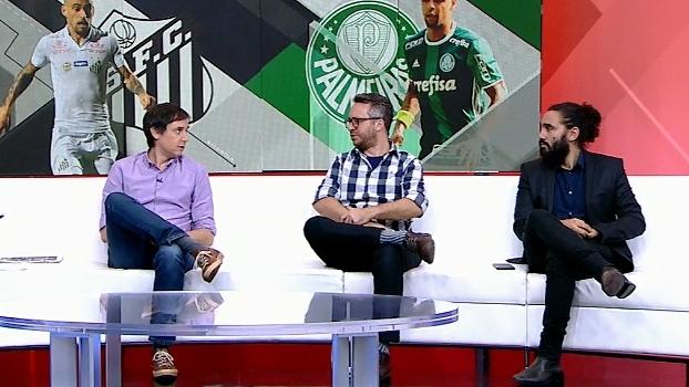 'O Santos é uma equipe muito agradável de se ver', diz Maurício Barros