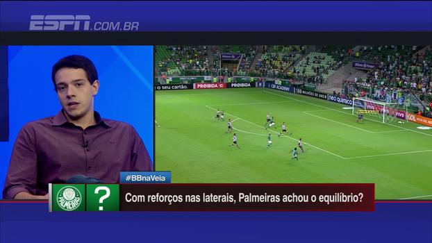 Rafael Oliveira e Gustavo Hofman avaliam origem de problemas nas laterais do Palmeiras