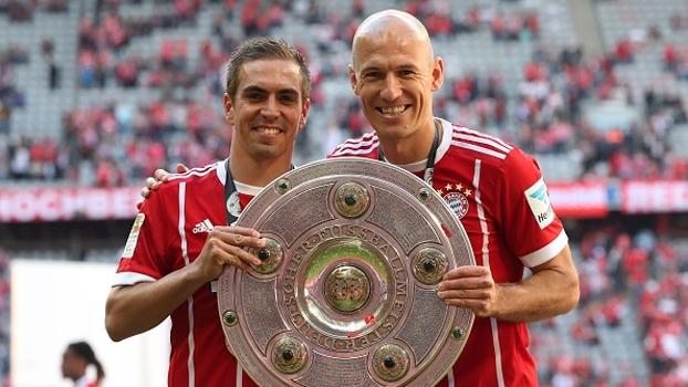 Assista à festa do campeão Bayern após a vitória sobre o Freiburg