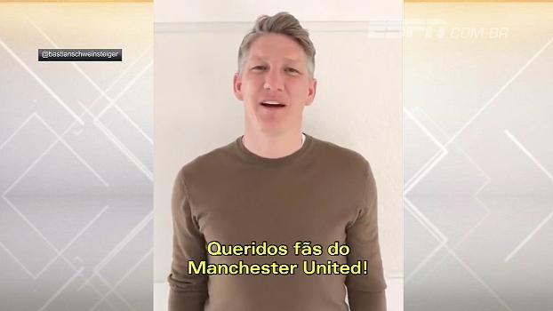 Adeus! A caminho da MLS, Schweinsteiger manda recado para torcida do Manchester United