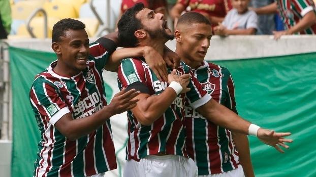 Brasileiro: Gols de Fluminense 3 x 2 Santos