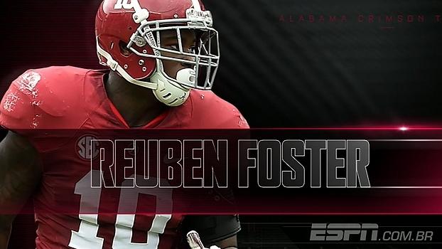 Prospectos da NFL: Reuben Foster, de Alabama, 'um linebacker completo'
