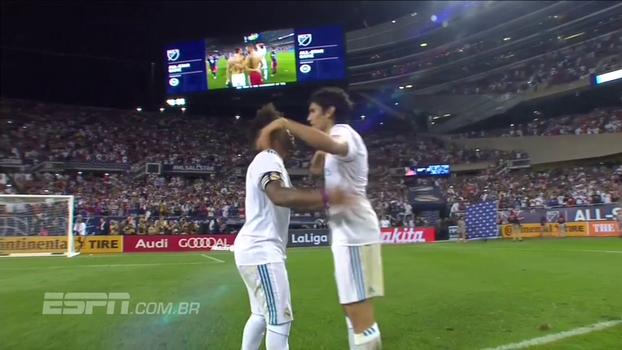 Assista aos melhores momentos de MLS All-Stars 1 (2) x (4) 1 Real Madrid