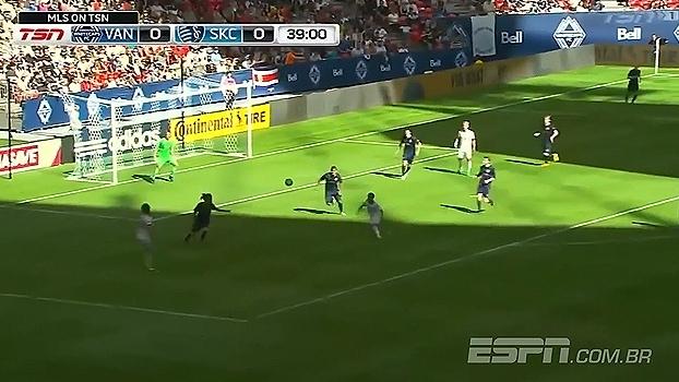 Tudo de primeira! Veja o golaço dos White Caps na Major League Soccer