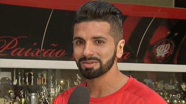 Guilherme celebra acerto com o Atlético-PR e se diz ansioso para a estreia