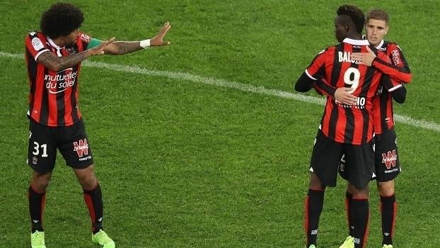 Veja os gols da vitória do Nice sobre o Bordeaux por 2 a 1