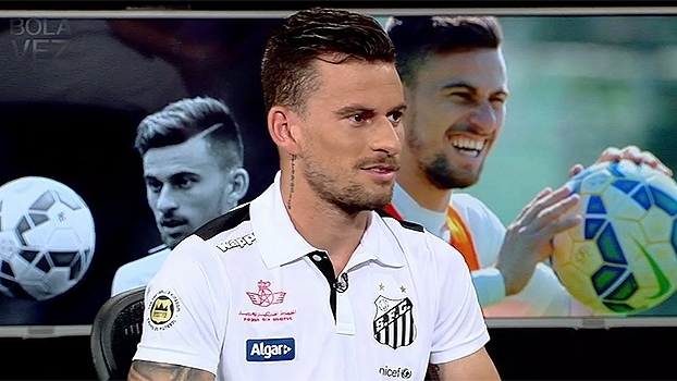 No Bola da Vez, Lucas Lima deixou claro: pretende deixar o Santos no meio do ano