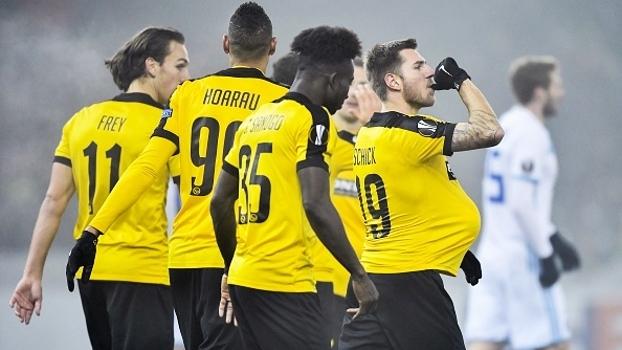 Young Boys faz 3 a 0 no Astana, mas não avança aos mata-matas da UEFA Europa League