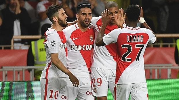 Francês: Gols de Monaco 4 x 0 Lille