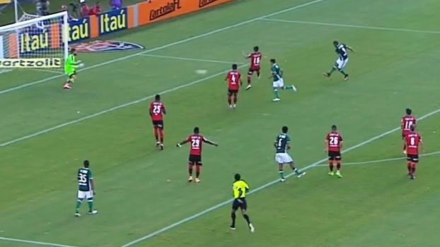 Brasileiro: Gols de Vitória 1 x 2 Palmeiras