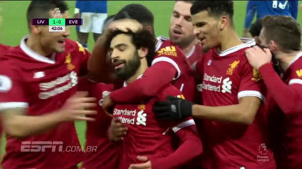 Premier League: Gols de Liverpool 1 x 1 Everton