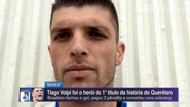 Herói no Querétaro, ex-Figueirense comenta carinho da torcida: 'Está complicado sair na rua'