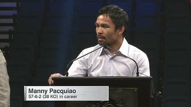 'Acredito que venci; fiz o melhor que pude, mas não foi suficiente', diz Pacquiao