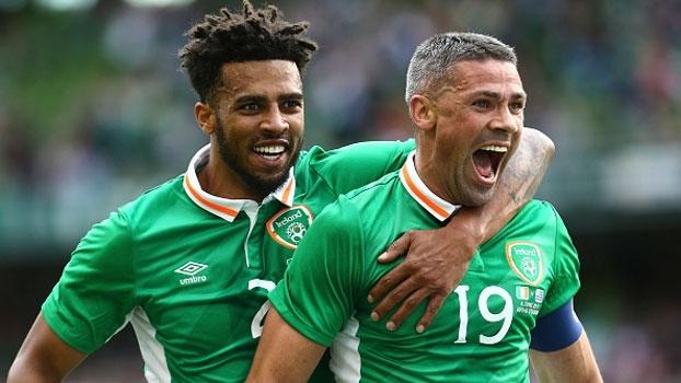 Atacante do Stoke faz golaço, e Irlanda bate Uruguai em amistoso em Dublin