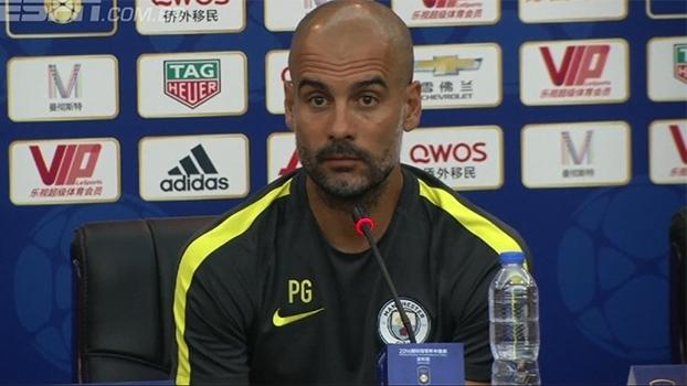 Após cancelamento de amistoso, Guardiola critica organização do torneio