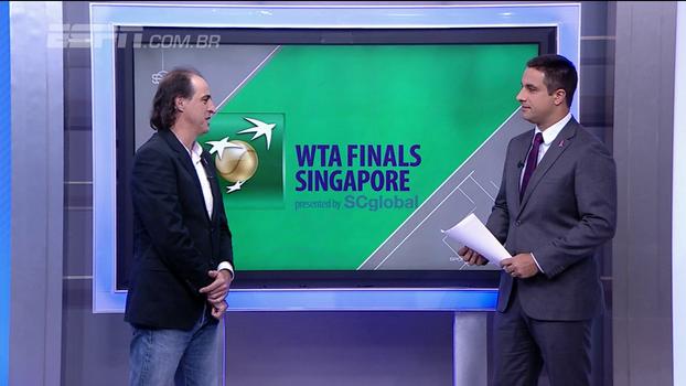 Meligeni analisa luta por nº1 entre as mulheres e diz que Goffin é o que mais merece vaga no ATP Finals