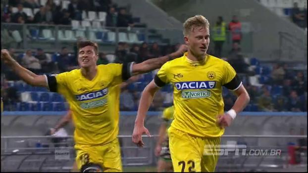 Udinese vence Sassuolo fora de casa, mas estaciona na 13º posição