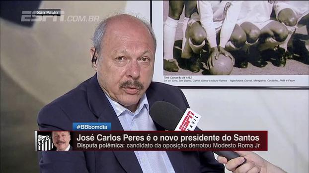 Presidente do Santos classifica dívida por Damião como 'preocupante', mas a considera equalizada