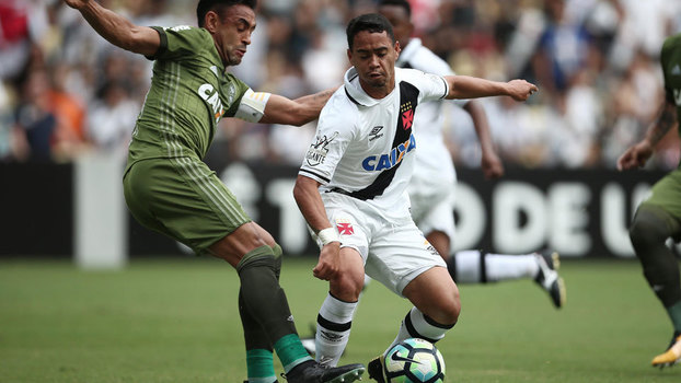 Assista aos gols do empate entre Coritiba e Vasco em 1 a 1!