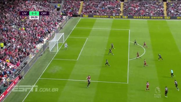 Tempo real: Milner chuta bem, mas goleiro do Crystal Palace defende