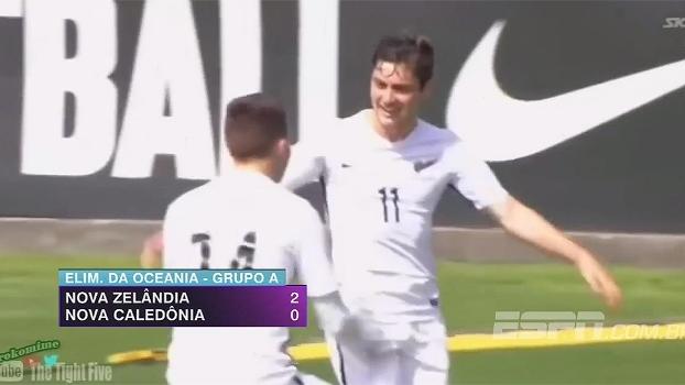 Na abertura das Eliminatórias da Oceania, Nova Zelândia vence Nova Caledônia