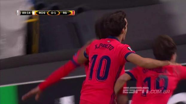 Veja o gol da vitória da Real Sociedad contra o Rosenborg por 1 a 0!