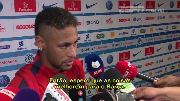 Neymar dispara contra direção do Barcelona; assista