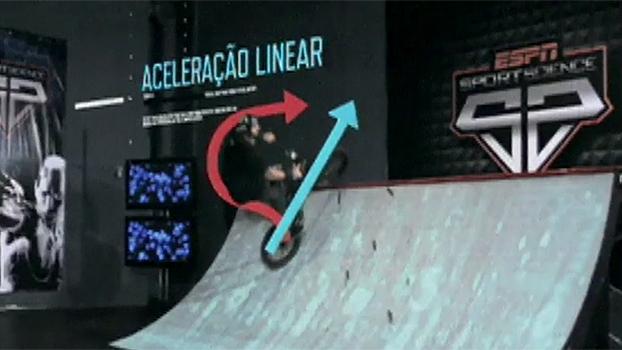 Aceleração, massa, velocidade: Sport Science explica manobras de skate e BMX