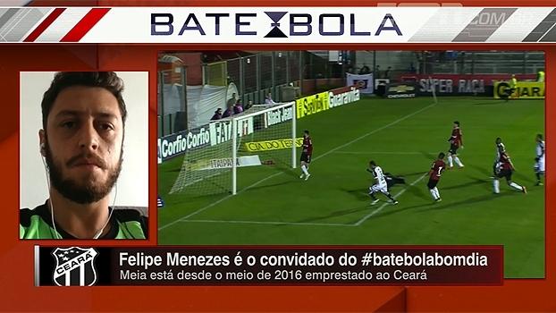 Felipe Menezes fala sobre expectativa para clássico contra o Fortaleza