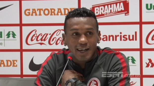 Edenílson fala da confiança que faltava, tranquilidade para trabalhar e exalta grupo do Inter