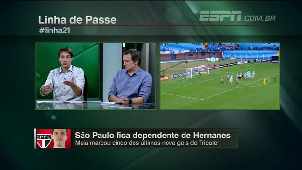 Sinais de melhora, tabela mais acessível e Hernanes decisivo; Arnaldo analisa São Paulo