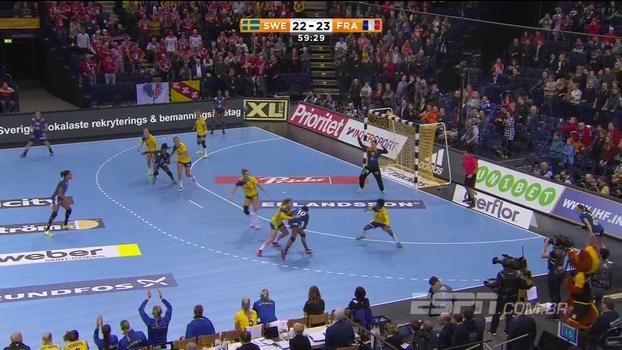 Acompanhe o incrível final de Suécia e França, pela semifinal do mundial de handebol