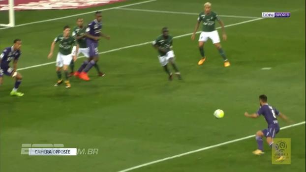 Veja os melhores momentos do empate entre Toulouse e Saint-Étienne, por 0 a 0