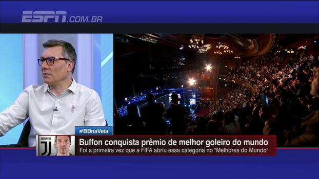 Calçade diz que Buffon é magnífico aos 39 anos: 'Não é um prêmio de fim de carreira'