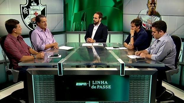 Juca vê 'mescla mal feita' no Vasco e desaprova Luis Fabiano: 'Má aposta'