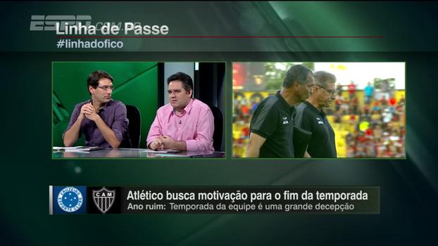 Bertozzi vê Atlético-MG 'à deriva' em termos de diretoria e critica: 'Um monte de jogador de nome, saciado, sem compromisso'