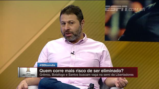 Marra prevê Santos se impondo e adversário no contragolpe: 'Pode ser um jogo bom para o Barcelona'