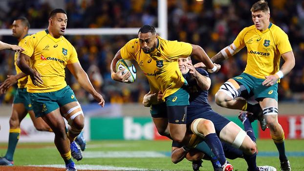 Austrália dispara no segundo tempo, bate Argentina e vence primeira no The Rugby Championship