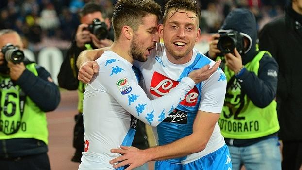 Italiano: Gols de Napoli 2 x 0 Genoa