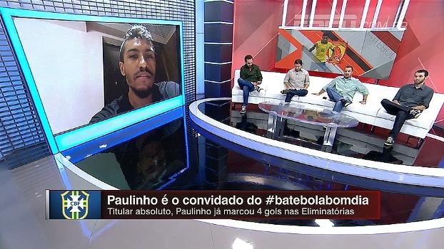 Paulinho se diz mais maduro na China e desconversa sobre transferência: 'Não houve nada oficial'