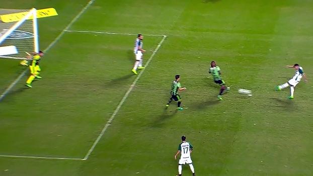 Série B: Gols de América-MG 1 x 1 Goiás