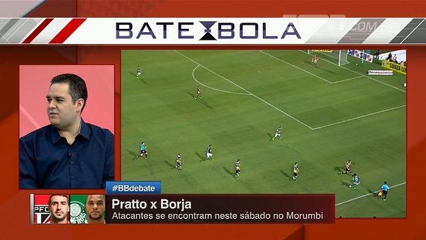Para Bertozzi, Borja se adaptou ao esquema, mas ainda não mostrou seu poder de decisão