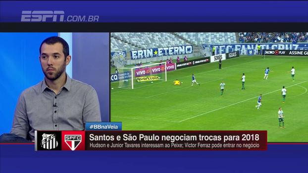 Hofman analisa possível ida de Hudson para o Santos ou volta ao São Paulo