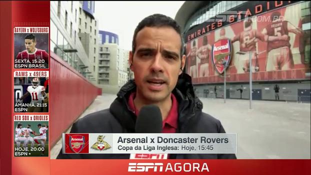 Entenda o motivo que leva Alex Ferguson ao Emirates Stadium para assistir Arsenal e Doncaster Rovers