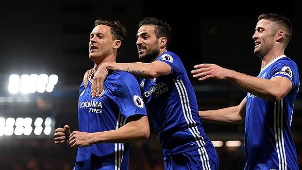 Assista aos gols da vitória do Chelsea sobre o Middlesbrough por 3 a 0!