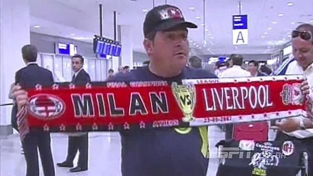 Quem viu? Há 10 anos, Milan e Liverpool disputavam a final da Champions na Grécia