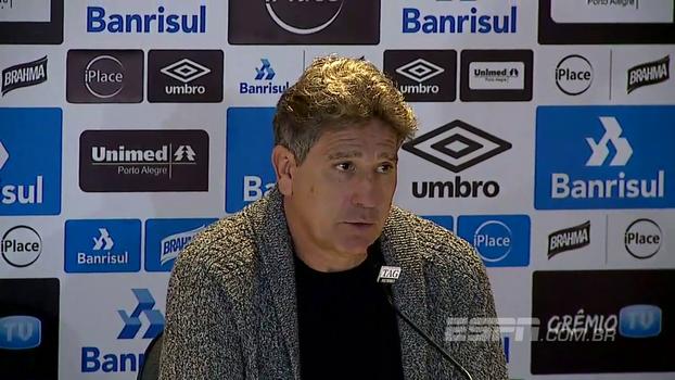 Após empate com Atlético-PR em casa, Renato Gaúcho analisa partida como 'tecnicamente muito ruim'